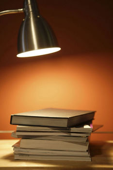 light on books