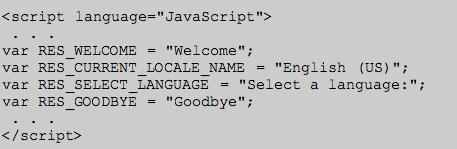 Current Locale Resulting Block | Internationalize JavaScript