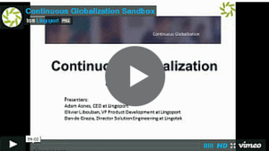 Globalization Sandbox Introduction