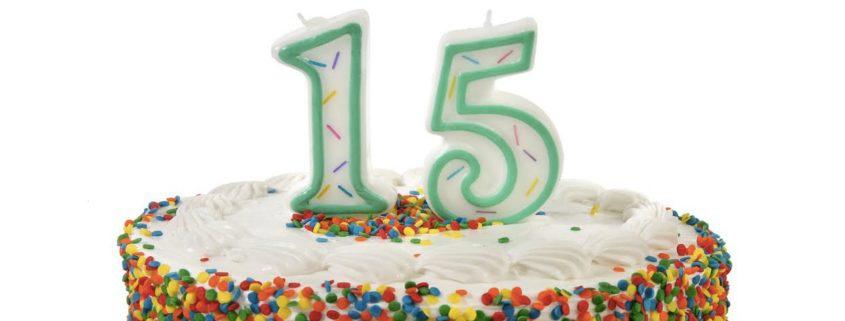 Turning 15