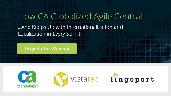 CA Agile Central I18n Webinar