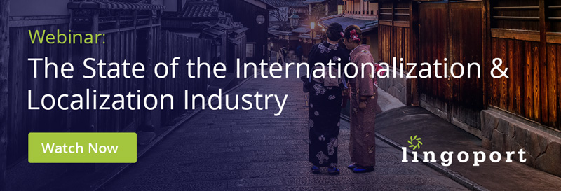 State of the Internationalization & Localization Industry Webinar
