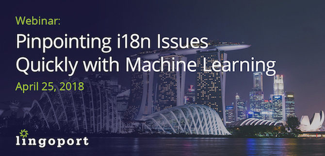 Machine Learning-Powered i18n Issue Detection