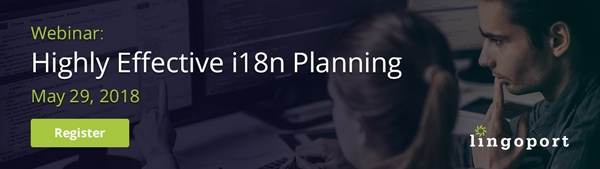Lingoport Webinar: Highly Effective i18n Planning