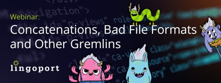 Concatenations, Bad File Formats and Other Gremlins