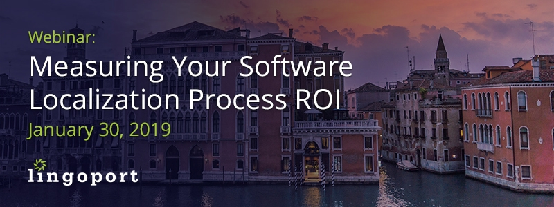 Software Localization Process ROI